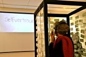 2012, Video Installation of performance artwork Label, Goethe Institute, Namibia