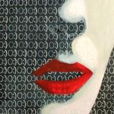 2012, 'Angel', Acrylic on Canvas, 120x120cm, Goethe Institut, Namibia