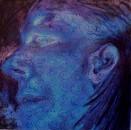 2012, 'Sad', Acrylic on Canvas, 120x120cm, Goethe Institute, Namibia