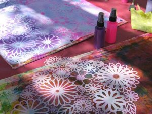 Fabric Painting Stencil