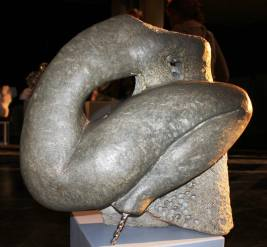 2013, 'Broken Wing' Sculptures in Public Places, Franco Namibian Cultural Centre, Windhoek, Namibia. Soapstone Sculpture