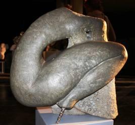 2013, 'Broken Wing' Sculptures in Public Places, Franco Namibian Cultural Centre, Windhoek, Namibia. Soapstone Sculpture