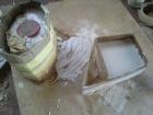 Poured moulds - plaster of paris