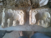 Adam's elephant - perfect plaster mould