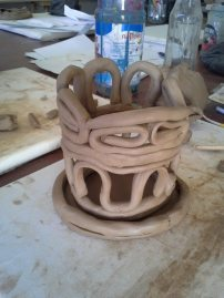 Coiling Technique Clay