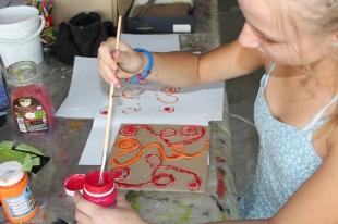 Yarn Printing -