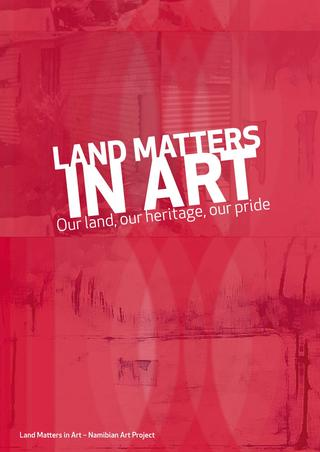 Land Matters in Art Catalogue Front Page