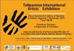 Poster Tulipamwe Artist Workshop