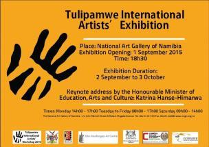 Poster Tulipamwe Artist Workshop